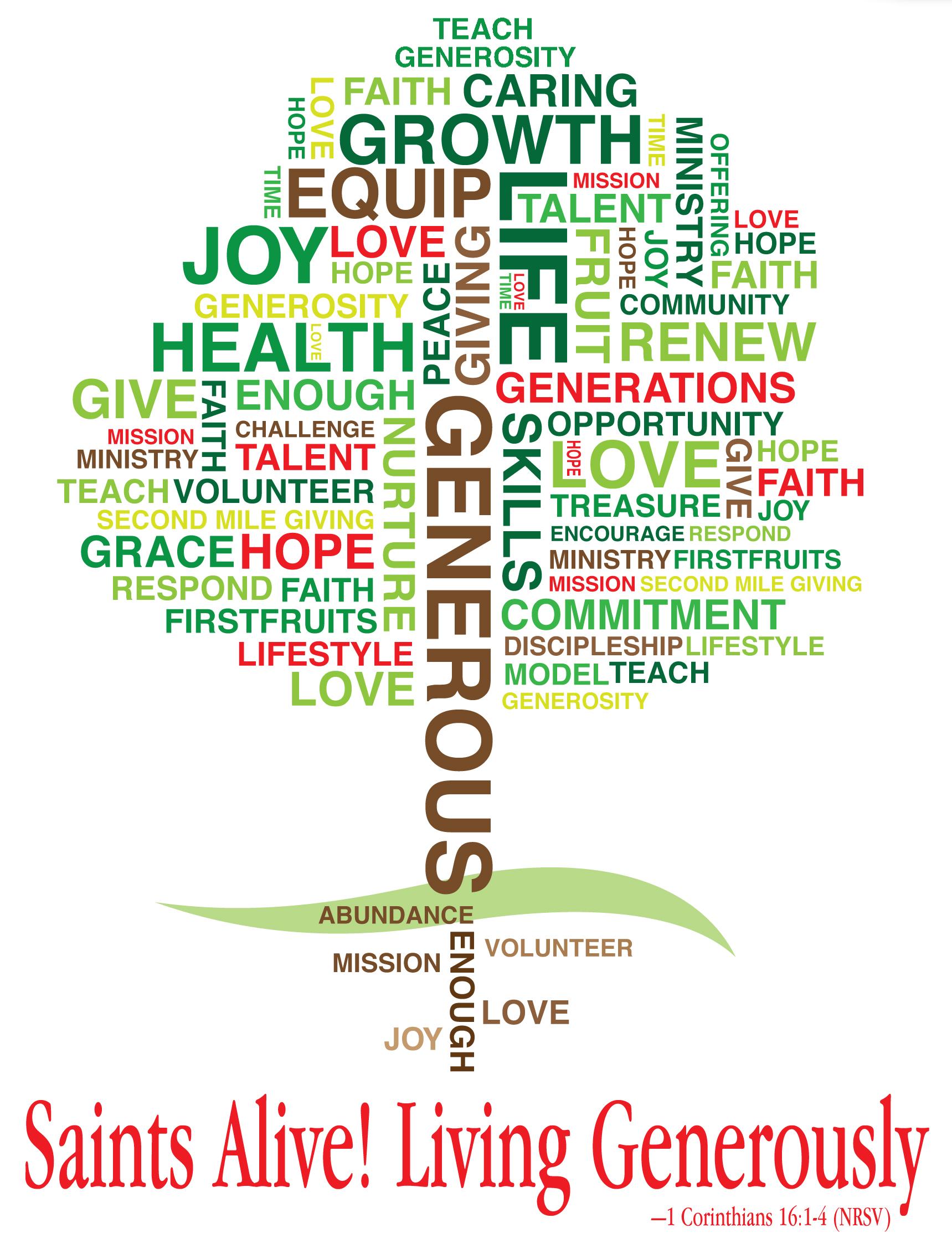 Christian stewardship wednesday september 9 2015 for Generous living