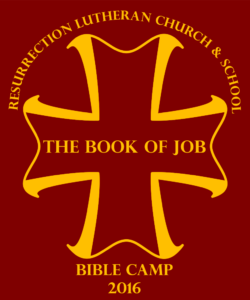 Resurrection Lutheran Church Job Bible Camp 2016